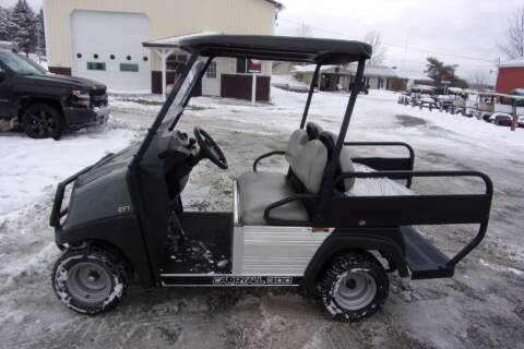 2017 Club Car Utility Cart Carry All 300 Gas EFI 4 Pass