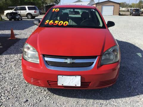 2010 Chevrolet Cobalt for sale at K & E Auto Sales in Ardmore AL