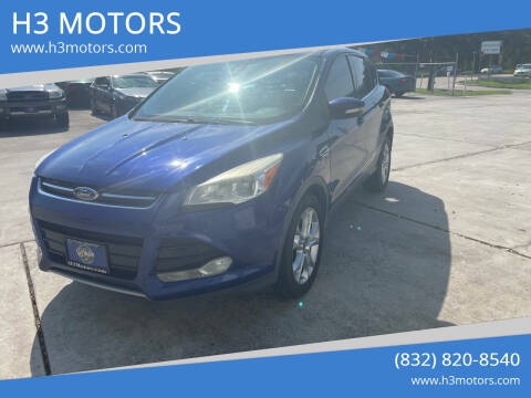 2013 Ford Escape for sale at H3 MOTORS in Dickinson TX