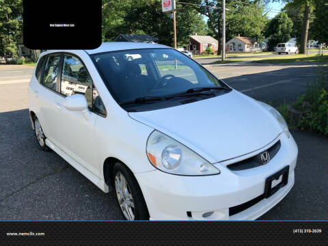 2007 Honda Fit for sale at New England Motor Cars in Springfield MA