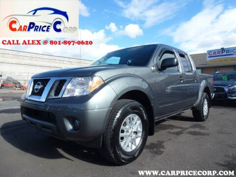 2019 Nissan Frontier for sale at CarPrice Corp in Murray UT