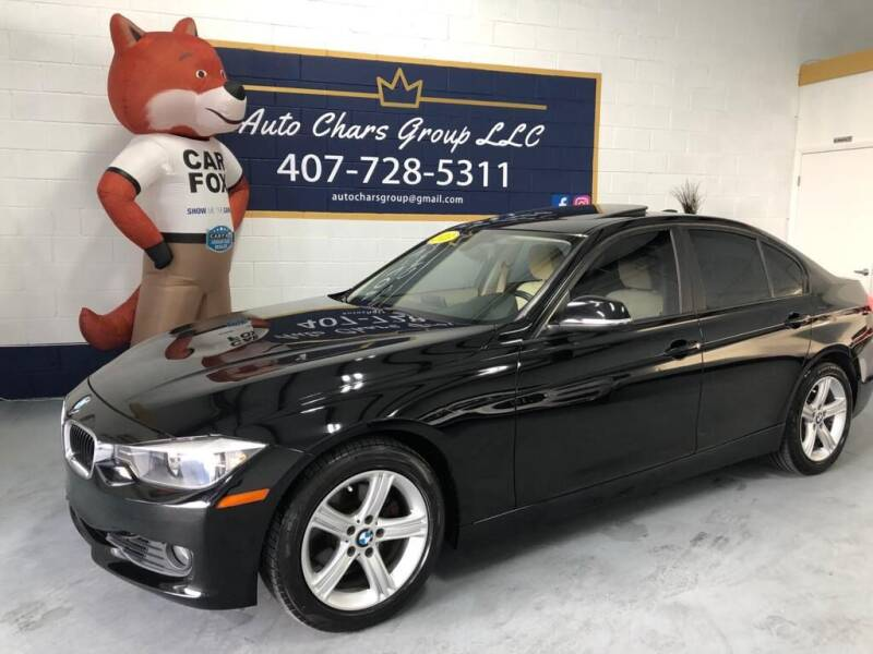 2013 BMW 3 Series for sale at Auto Chars Group LLC in Orlando FL