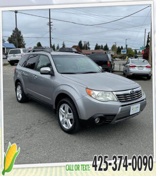 2009 Subaru Forester for sale at Corn Motors in Everett WA