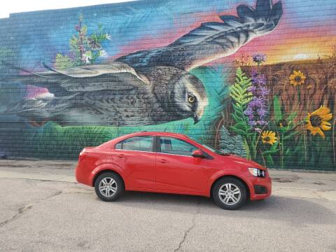 2015 Chevrolet Sonic for sale at RIVERSIDE AUTO SALES in Sioux City IA