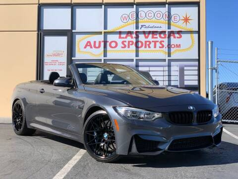 2017 BMW M4 for sale at Las Vegas Auto Sports in Las Vegas NV