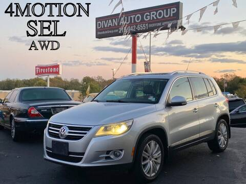 2010 Volkswagen Tiguan for sale at Divan Auto Group in Feasterville PA