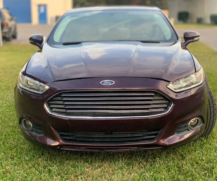 2013 Ford Fusion for sale at Krifer Auto LLC in Sarasota FL