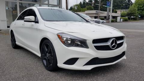 2016 Mercedes-Benz CLA for sale at Seattle Auto Deals in Everett WA