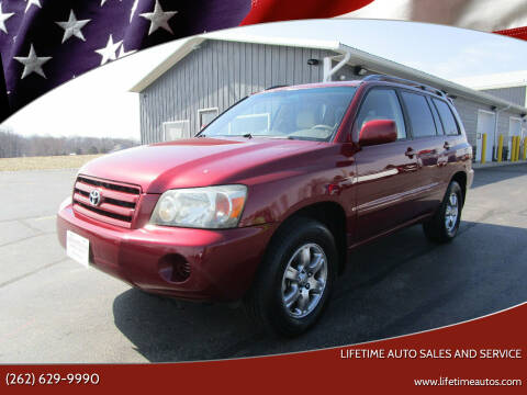 2006 Toyota Highlander for sale at Lifetime Auto Sales and Service in West Bend WI