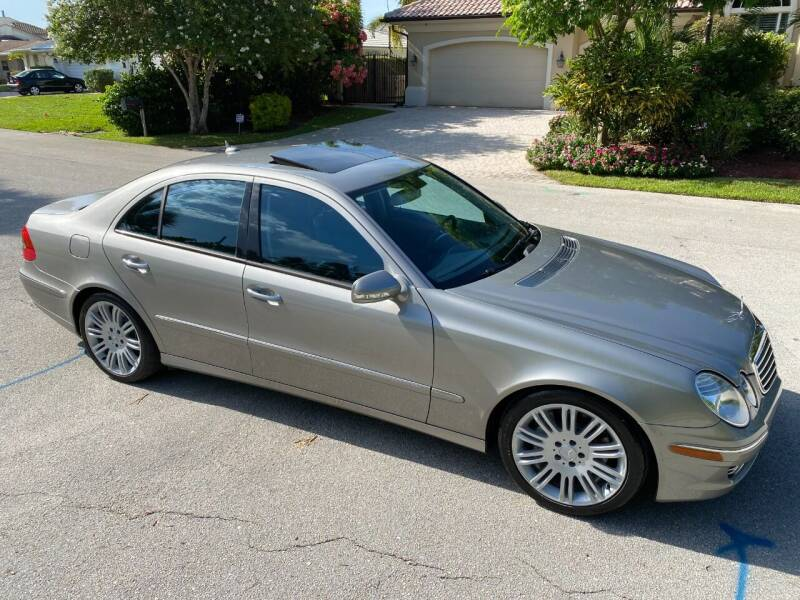 2007 Mercedes-Benz E-Class for sale at Exceed Auto Brokers in Lighthouse Point FL