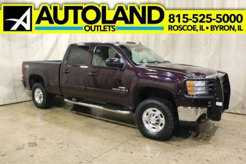 2008 GMC Sierra 2500HD for sale at AutoLand Outlets Inc in Roscoe IL
