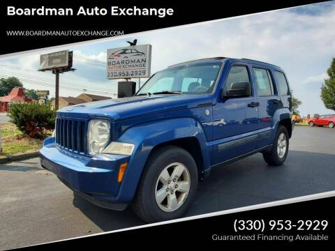 2010 Jeep Liberty for sale at Boardman Auto Exchange in Youngstown OH