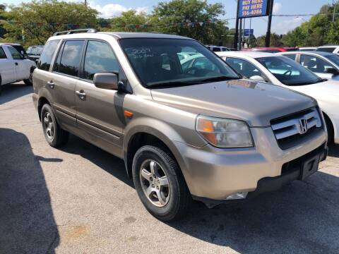 2007 Honda Pilot for sale at Sonny Gerber Auto Sales 4519 Cuming St. in Omaha NE