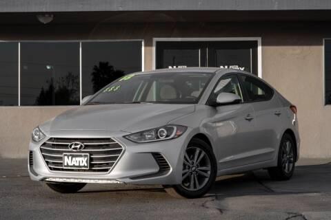 2018 Hyundai Elantra for sale at AUTO NATIX in Tulare CA