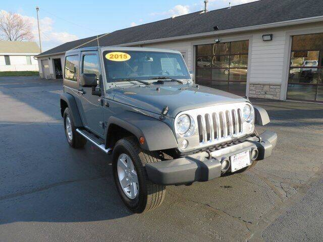 2015 Jeep Wrangler for sale at Tri-County Pre-Owned Superstore in Reynoldsburg OH