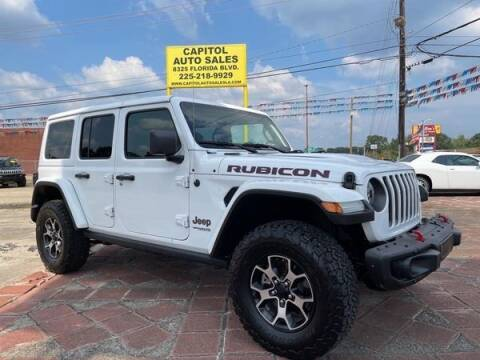 2021 Jeep Wrangler Unlimited for sale at CAPITOL AUTO SALES LLC in Baton Rouge LA