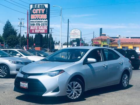 2017 Toyota Corolla for sale at City Motors in Hayward CA