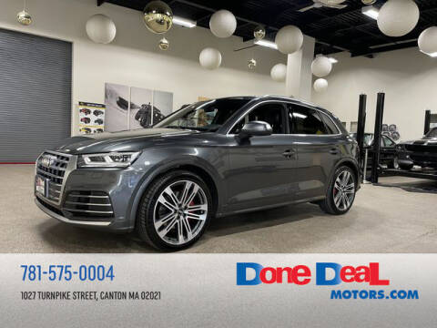 2018 Audi SQ5 for sale at DONE DEAL MOTORS in Canton MA