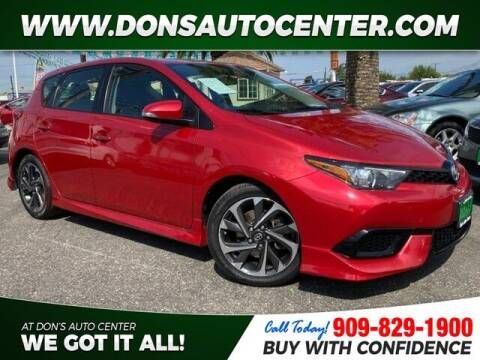 2016 Scion iM for sale at Dons Auto Center in Fontana CA