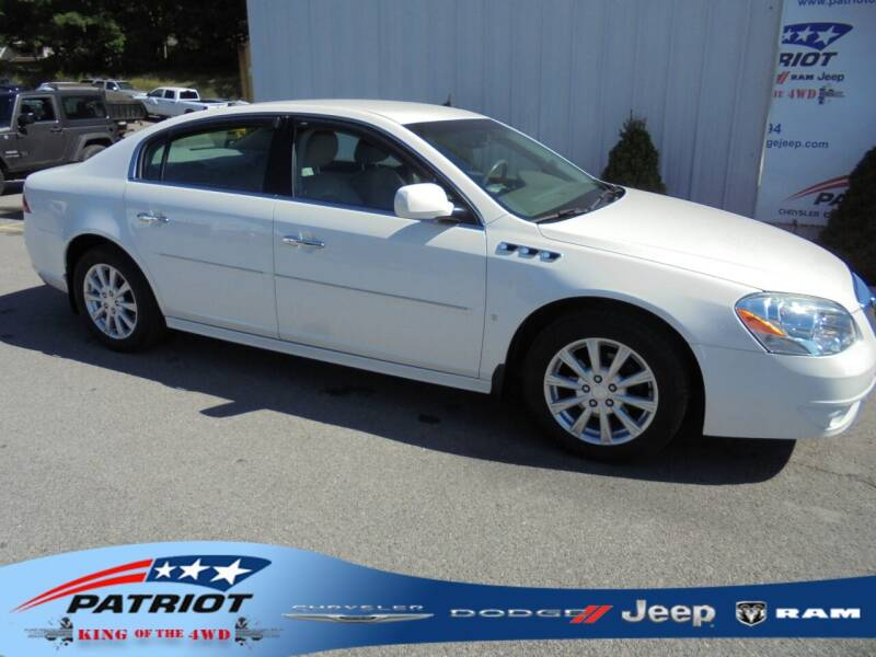 2010 Buick Lucerne for sale at PATRIOT CHRYSLER DODGE JEEP RAM in Oakland MD