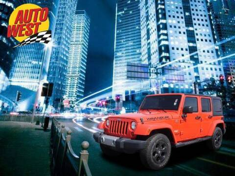 2013 Jeep Wrangler Unlimited for sale at Autowest of Plainwell in Plainwell MI