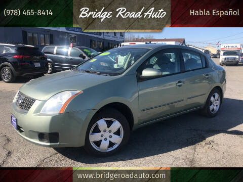 2007 Nissan Sentra for sale at Bridge Road Auto in Salisbury MA