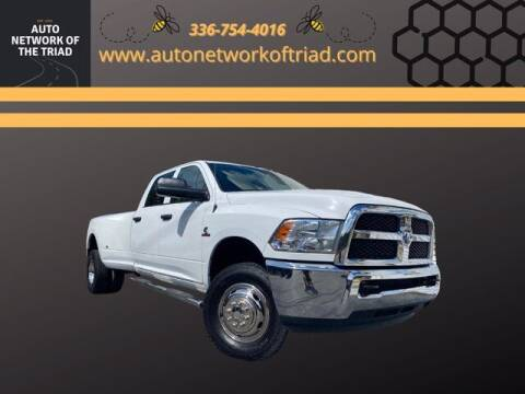 2018 RAM Ram Pickup 3500 for sale at Auto Network of the Triad in Walkertown NC