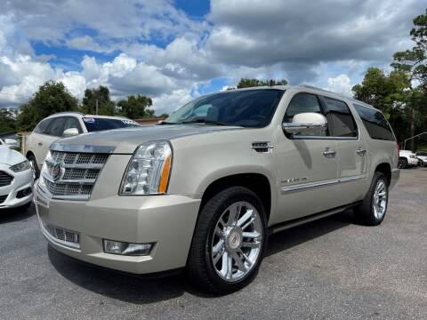 2014 Cadillac Escalade ESV for sale at Upfront Automotive Group in Debary FL