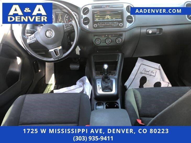 2014 Volkswagen Tiguan S - Denver CO