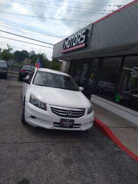 2012 Honda Accord for sale at i3Motors in Baltimore MD