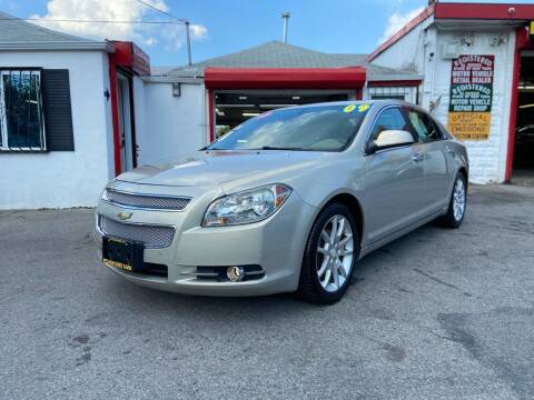 2009 Chevrolet Malibu for sale at PELHAM USED CARS & AUTOMOTIVE CENTER in Bronx NY