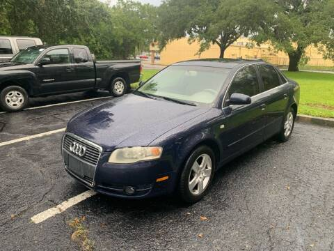 2006 Audi A4 for sale at Florida Prestige Collection in Saint Petersburg FL