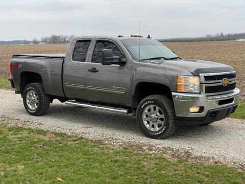 2013 Chevrolet Silverado 2500HD for sale at CMC AUTOMOTIVE in Roann IN