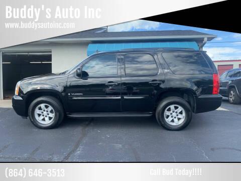 2008 GMC Yukon for sale at Buddy's Auto Inc in Pendleton, SC