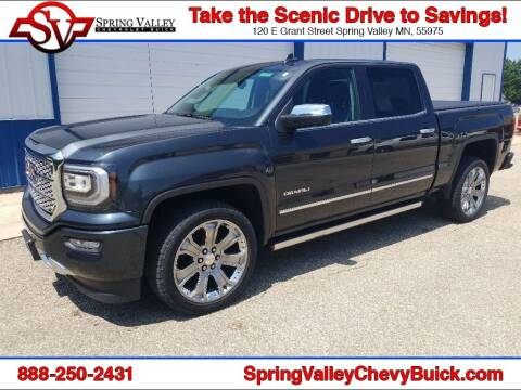2017 GMC Sierra 1500 for sale at Spring Valley Chevrolet Buick in Spring Valley MN
