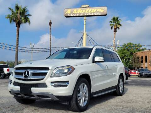 2013 Mercedes-Benz GL-Class for sale at A MOTORS SALES AND FINANCE - 5630 San Pedro Ave in San Antonio TX