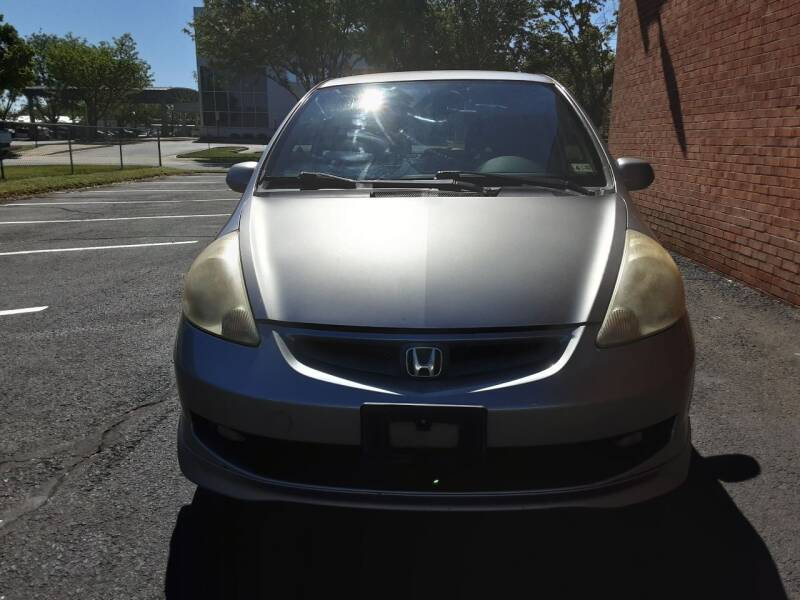 2008 Honda Fit for sale at Fredericksburg Auto Finance Inc. in Fredericksburg VA