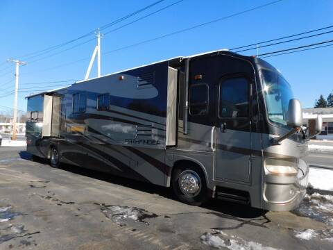 2009 Sportscoach Pathfinder 405FK for sale at Autowright Motor Co. in West Boylston MA