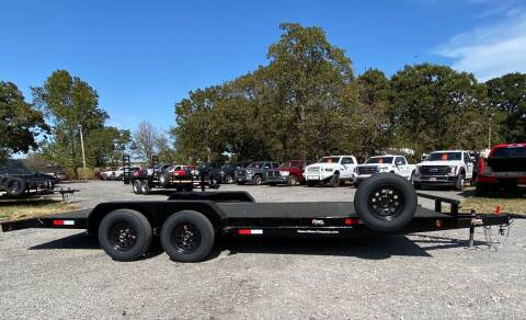 """2022 HD 83""""x20' Carhauler Flatbed for sale at TINKER MOTOR COMPANY in Indianola OK"""