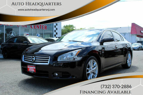 2013 Nissan Maxima for sale at Auto Headquarters in Lakewood NJ
