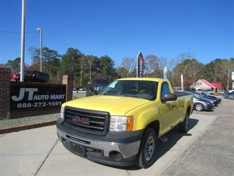2011 GMC Sierra 1500 for sale at J T Auto Group in Sanford NC