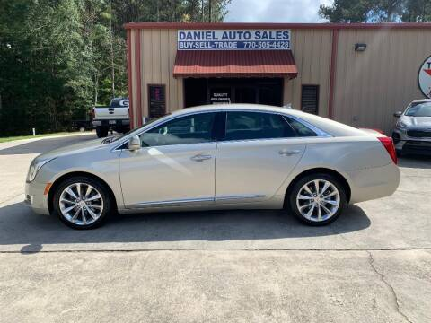 2013 Cadillac XTS for sale at Daniel Used Auto Sales in Dallas GA