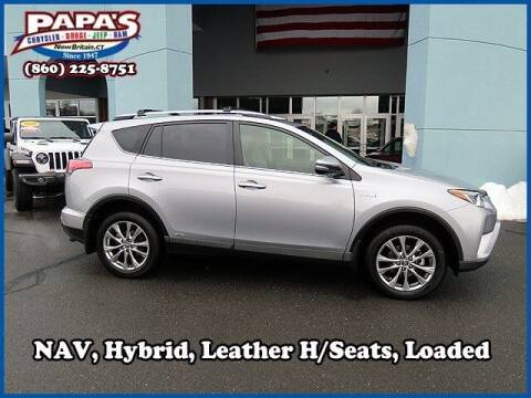 2017 Toyota RAV4 Hybrid for sale at Papas Chrysler Dodge Jeep Ram in New Britain CT