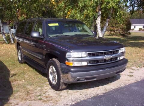 2006 Chevrolet Suburban for sale at LAKESIDE MOTORS LLC in Houghton Lake MI