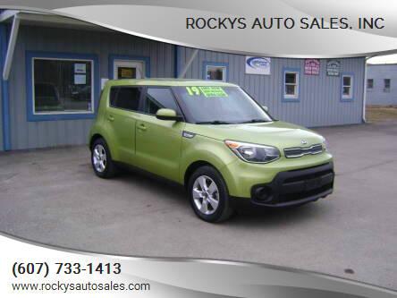 2019 Kia Soul for sale at Rockys Auto Sales, Inc in Elmira NY