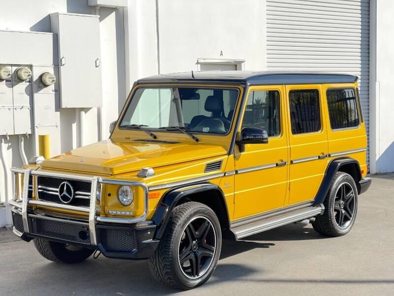 2016 Mercedes-Benz G-Class for sale at Corsa Exotics Inc in Montebello CA