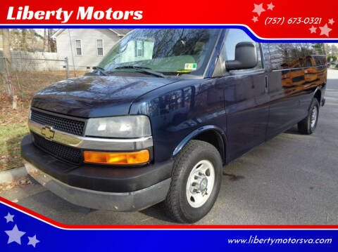 2011 Chevrolet Express Passenger for sale at Liberty Motors in Chesapeake VA