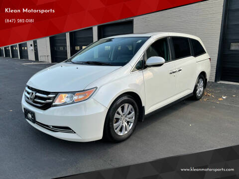 2016 Honda Odyssey for sale at Klean Motorsports in Skokie IL