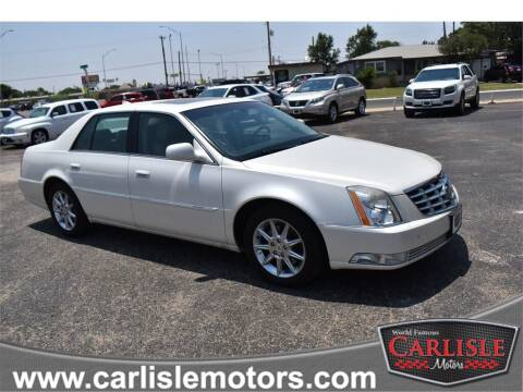 2011 Cadillac DTS for sale at Carlisle Motors in Lubbock TX