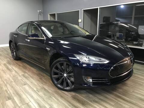 2014 Tesla Model S for sale at Golden State Auto Inc. in Rancho Cordova CA